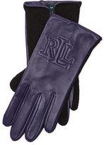 Ralph Lauren Two-Tone Touch Screen Gloves