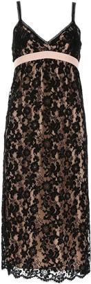 Gucci Deep V Lace Dress