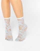 Asos Lace Ankle Socks