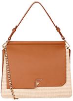 Fiorelli Tilly Shoulder Bag, Tan Raffia
