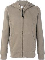 C.P. Company goggle hooded sweatshirt