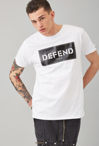 Forever 21 FOREVER 21+ Defend Paris Graphic Tee