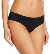 Lovable Women's Culotte Generous Feminine Underpants, Black (004-Nero )