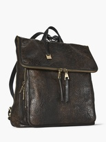 John Varvatos Fold-Over Zip Backpack