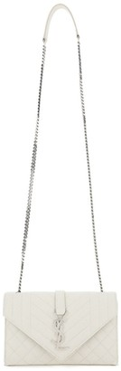 Saint Laurent Envelope Matelasse Small Crossbody Bag