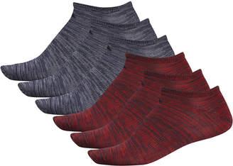 adidas Men 6-Pk. Superlite No-Show Socks