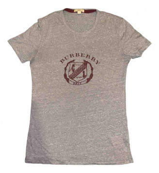 Burberry Grey Polyester T-shirts