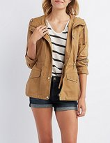 Charlotte Russe Hooded Utility Anorak