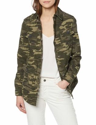 New Look Women's Camo Pocket Utility Jacket