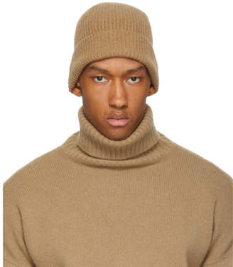 Harmony Tan Angora and Wool Wayne Beanie