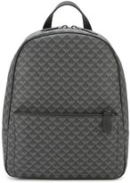 Emporio Armani eagle all over backpack - men - Polyester - One Size