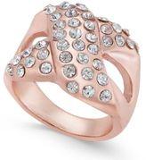 Thalia Sodi Pavé X Ring, Created for Macy's