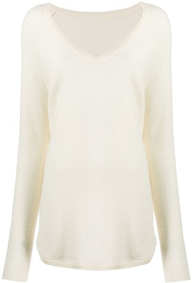 Chinti and Parker V-neck jumper