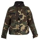 Vetements Commando hooded camouflage-print jacket