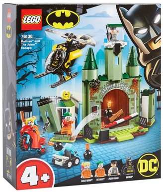 Lego Dc Super Heroes Batman And The Joker Escape