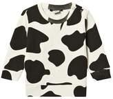 Little LuWi Cow Print Sweatshirt