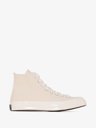 Converse Neutrals Neutral Chuck 70 High Top Sneakers