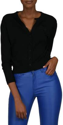 Molly Bracken Long-Sleeve Knit Cardigan