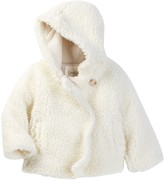 Jessica Simpson Fleece Swing Jacket (Baby Girls)