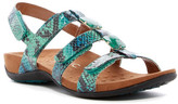 Vionic Amber with Orthaheel(R) Technology Adjustable Sandal - Wide Width Available