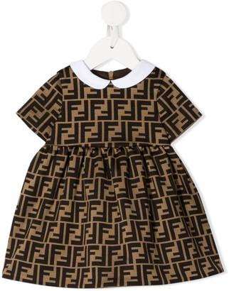 Fendi Kids FF motif dress