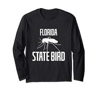Florida State Bird Mosquito Camping Outdoors Hiking Long Sleeve T-Shirt