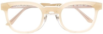 Kuboraum Maske N14 square-frame glasses
