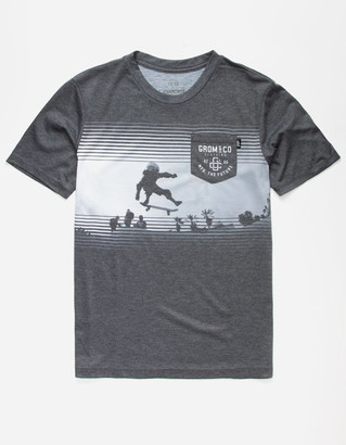 Grom Stuntman Boys Pocket Tee