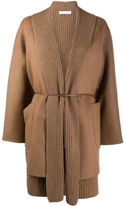 Fabiana Filippi Belted Layered Jacket