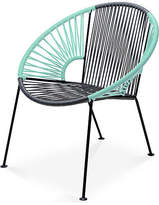 Mexa Ixtapa Lounge Chair - Gray/Mint