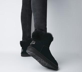 UGG Classic Bling Mini Boots Black