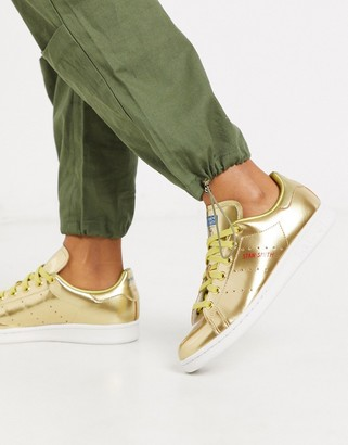 adidas Stan Smith sneakers in gold