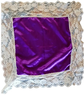 La Perla Purple Silk Scarves
