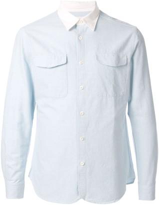 Kent & Curwen Contrast Collar Overshirt