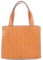Celine Logo Mini Handle Bag