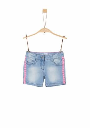 S'Oliver Girls' 403.10.004.26.180.2037988 Denim Shorts