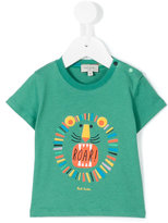 Paul Smith lion print T-shirt - kids - Cotton - 12 mth