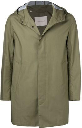 MACKINTOSH Concealed Fastening Hooded Raincoat