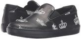 Dolce & Gabbana City Crown Slip-On Sneaker (Little Kid/Big Kid)