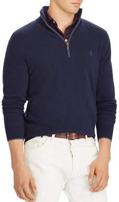 Polo Ralph Lauren Washable Cashmere Half-Zip Sweater - 100% Exclusive