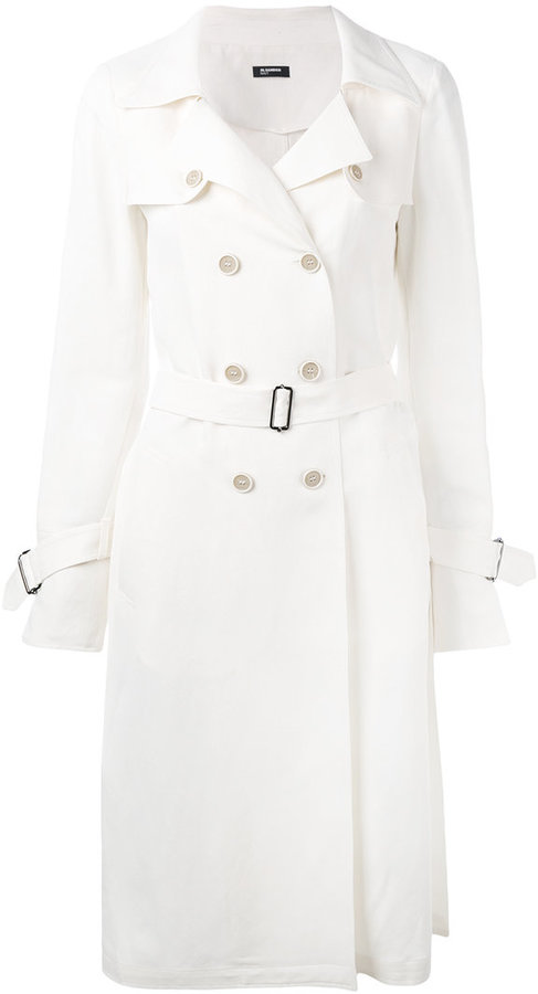 Jil Sander Navy classic trench coat