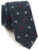 Tommy Hilfiger Denim Anchor Print Tie