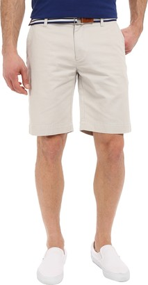 U.S. Polo Assn. Men's Hartford Flat Front Twill Short