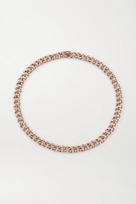 Anita Ko 18-karat Rose Gold Necklace