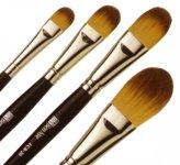 Ben Nye Foundation & Contour Brushes, Wide Foundation