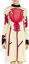 Marni Printed silk-blend crepe dress
