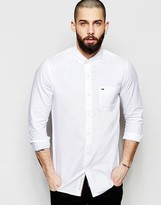 Hilfiger Denim Shirt In Oxford In Lightweight Cotton Regular Fit