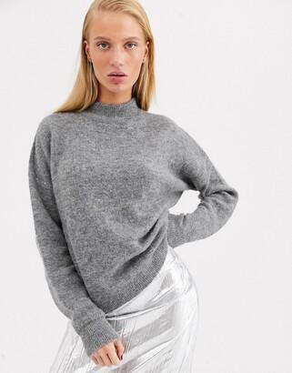 ASOS super soft alpaca wool crew neck