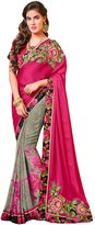 FourCorners2013 Indian Designer Party wear Wedding Color Saree Sari 73384
