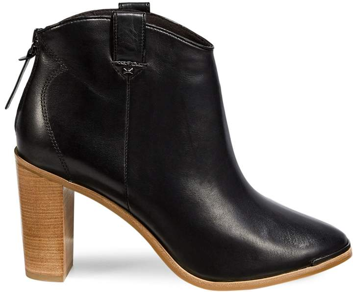 77ac83a52ac Kasidy Leather Ankle Boots
